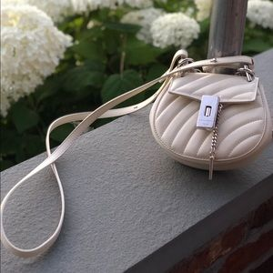Mini Chloe Drew Bijou Cross Body White